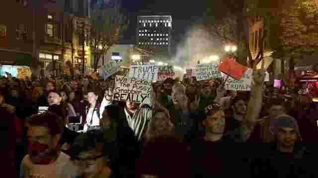 У США сталася стрілянина під час акції протесту проти обрання Дональда Трампа президентом