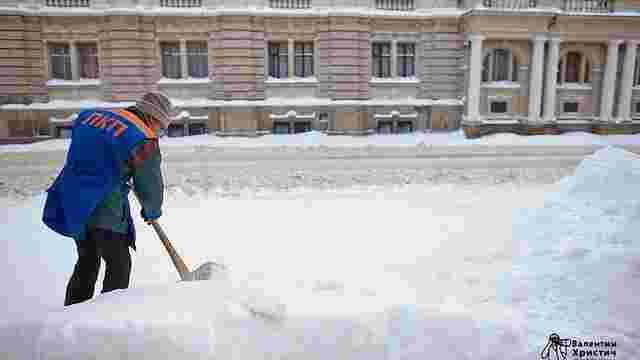 У Львові роботу снігоприбиральної техніки можна відстежувати онлайн