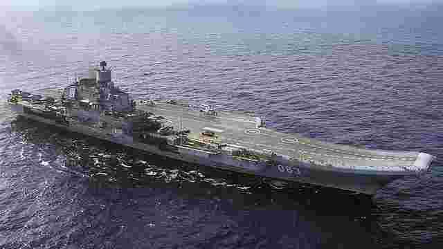 Росіяни на авіаносці «Адмірал Кузнєцов» втопили свій винищувач