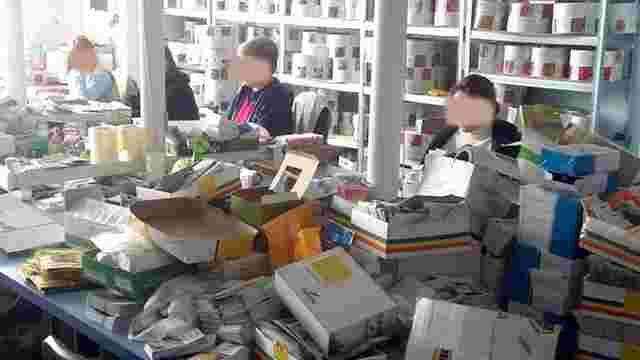 У Києві виявили склад з отруйними речовинами