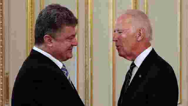 Порошенко і Байден зійшлися на необхідності продовження дії санкцій проти Росії