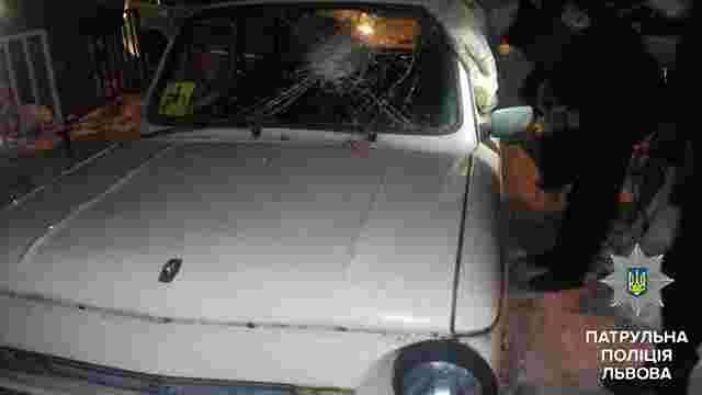 Автозлодії збили власника машини на своєму «Запорожці» і втекли з місця події