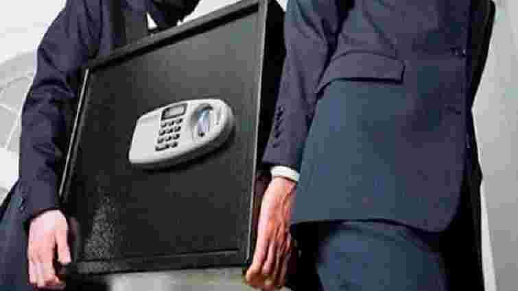 З обмінника в центрі Львова викрали сейф з мільйоном гривень