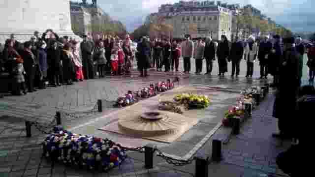У Франції вшанували пам'ять жертв Голодомору