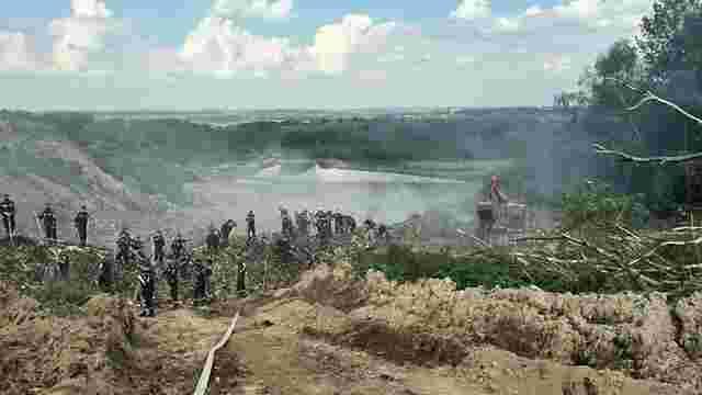 На Грибовицькому сміттєзвалищі укріплять дамбу на озерах з фільтратами