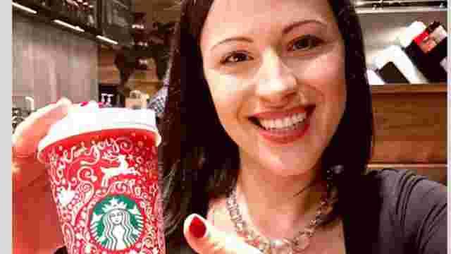 Художниця українського походження розробила новорічний дизайн для Starbucks