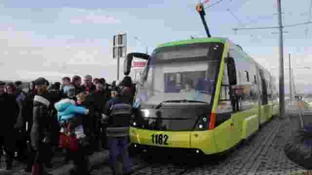 Протягом перших п'яти днів трамвай на Сихів перевіз 210 тис. пасажирів