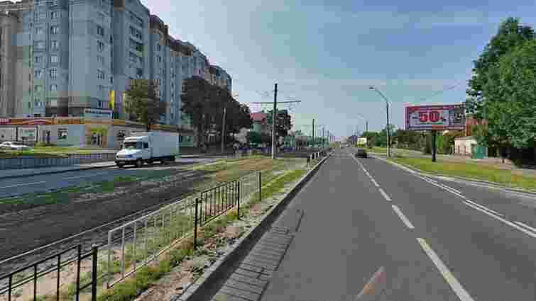 На вул. Княгині Ольги у Львові облаштують додаткові смуги і встановлять світлофори