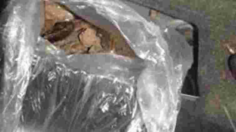 На Рава-руській митниці втретє за тиждень вилучили бурштин