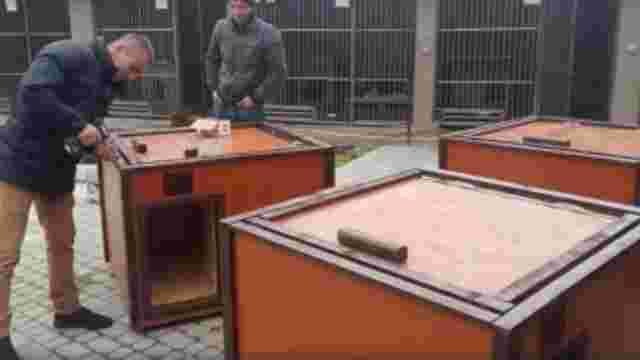 У ЛКП «Лев» встановили 10 утеплених будок
