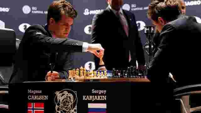 Норвезький шахіст обіграв росіянина у десятій партії матчу за звання чемпіона світу