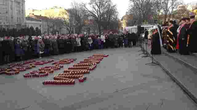 Львів'яни запалили свічки в пам'ять про жертв Голодомору