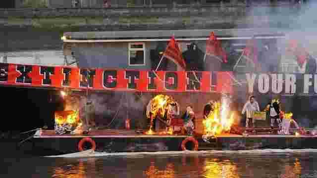 У Лондоні спалили колекцію речей Sex Pistols на $6 млн