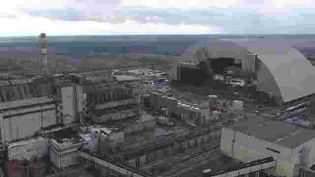 Четвертий енергоблок ЧАЕС накрили новим саркофагом