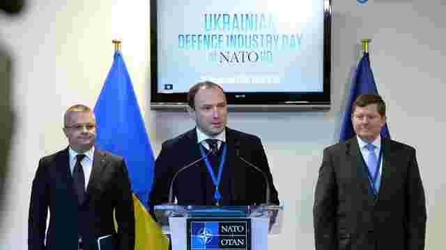 Україна презентує проекти та військову продукцію в штаб-квартирі НАТО