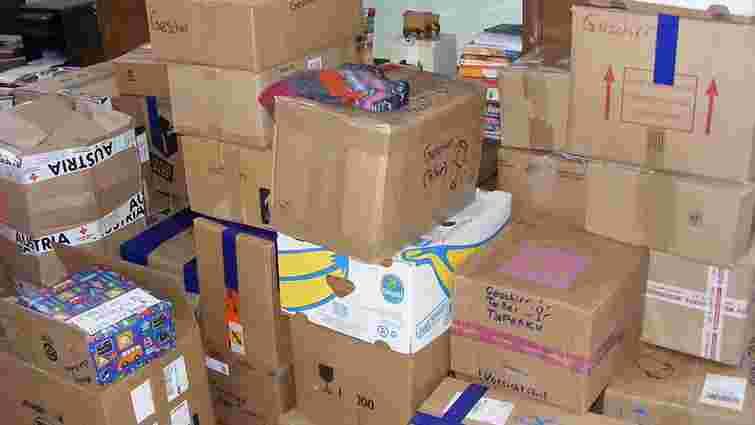 Українка з Австрії передала до Львова 8 тонн гуманітарної допомоги