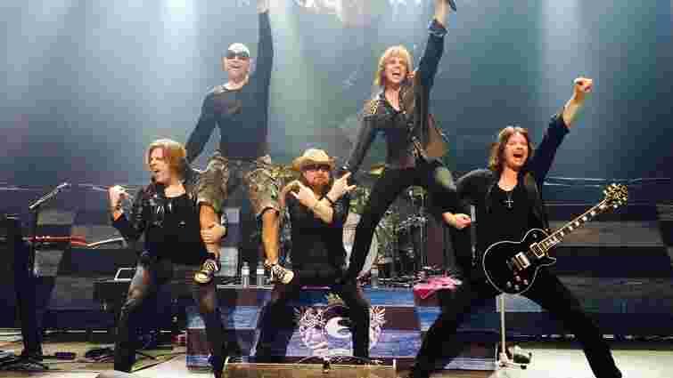 Шведська рок-група Europe скасувала концерт в Києві