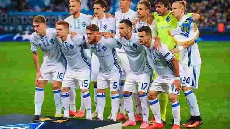 «Динамо» вперше в історії забило 6 голів у Лізі чемпіонів