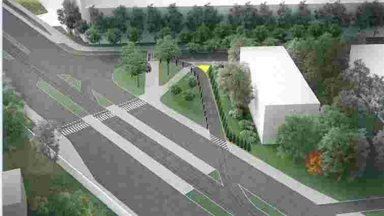 Навесні у Львові озеленять дорогу вздовж трамвайної лінії на Сихів