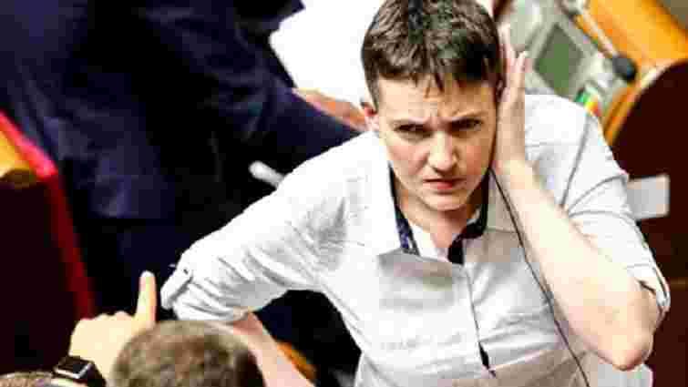Надія Савченко вийшла з партії «Батьківщина»