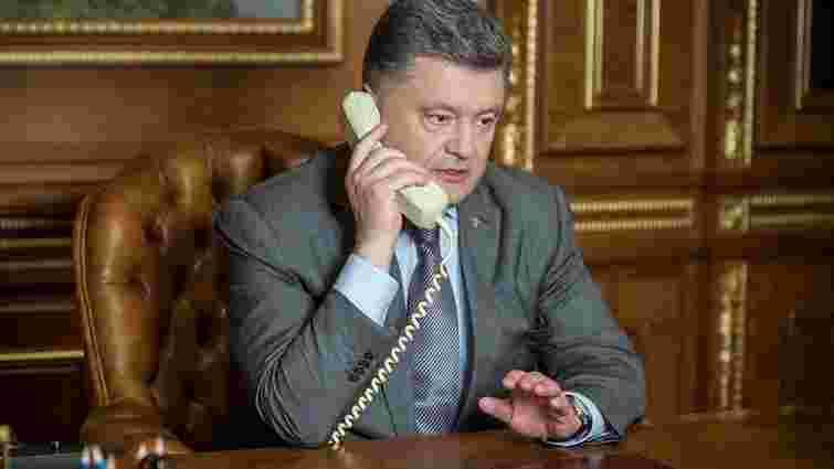 Петро Порошенко заявив Дональду Туску, що Росія заслуговує нових санкцій через ситуацію в Алеппо