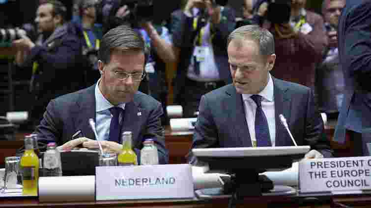 ЄС узгодив завершення ратифікації Угоди про асоціацію з Україною з урахуванням умов Нідерландів