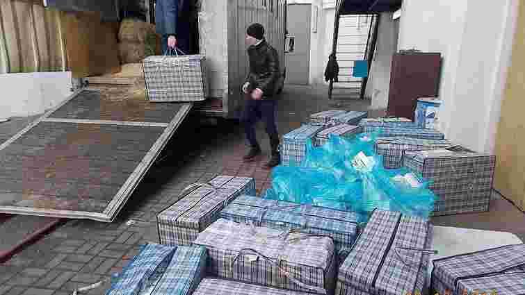 На кордоні з Польщею затримали рекордну кількість контрабандних сигарет