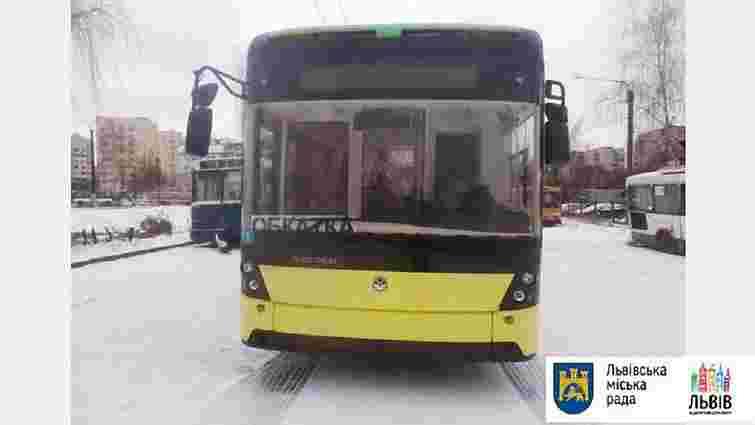 «Львівелектротранс» отримав два з п'яти нових «електронівських» тролейбусів