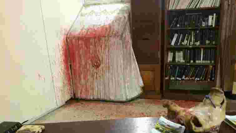 В Умані невідомі влаштували погром у синагозі