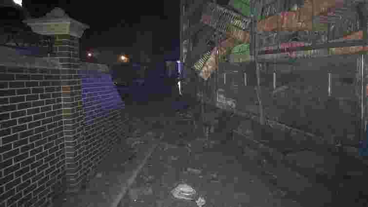 Біля Львова завантажена курми фура без водія потрапила в ДТП