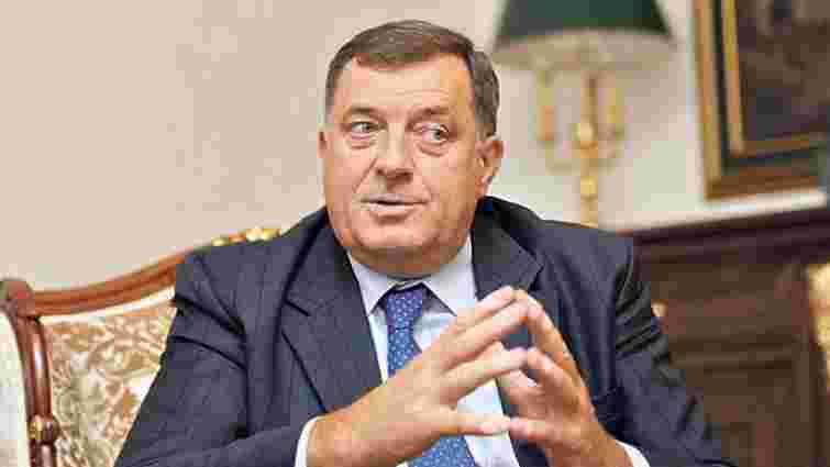 Лідер боснійських сербів анонсував референдум щодо відділення від Боснії і Герцеговини