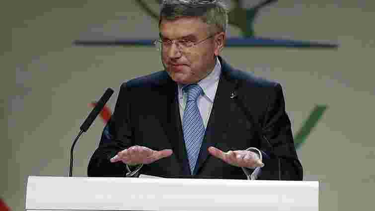 Президент МОК заявив про нові санкції щодо Росії через допінговий скандал