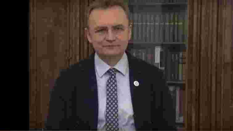 Андрій Садовий побажав українцям у Новому році миру, добра і мудрості