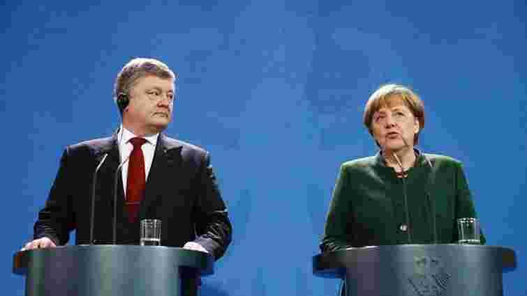 Президент перервав візит до Німеччини через ситуацію в Авдіївці