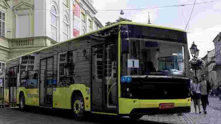 Львівське АТП-1 отримало 25 нових автобусів «Електрон»