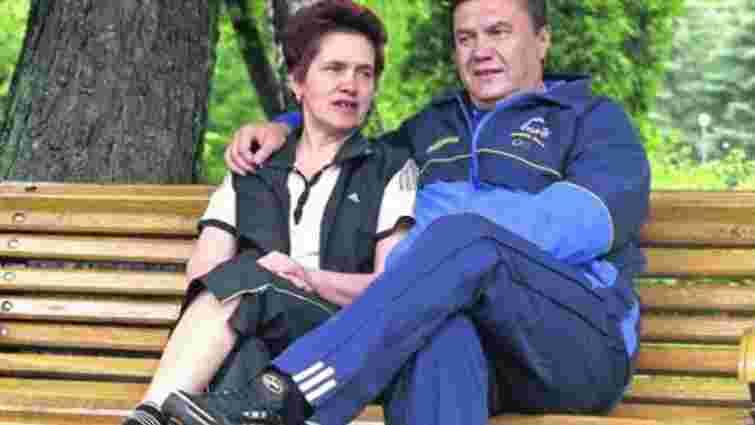 Віктор Янукович розлучився з дружиною