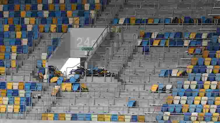 З «Арени Львів» демонтують 7 тис. крісел для «Євробачення» у Києві