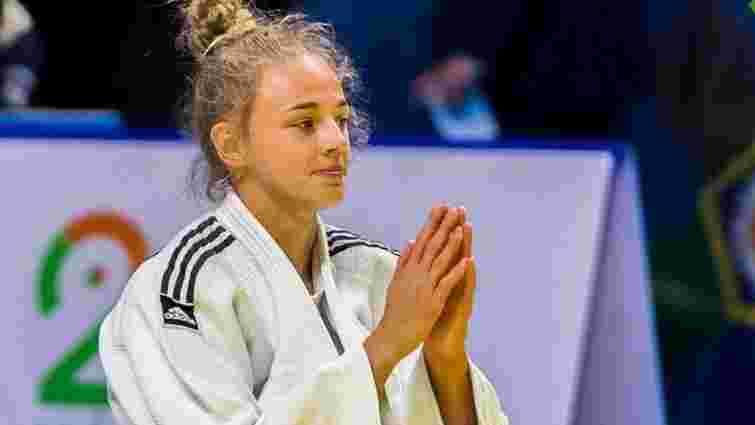 16-річна українка виграла дорослий чемпіонат Європи з дзюдо