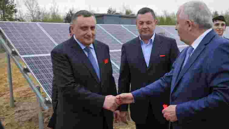 Дубневичі відкрили свою першу сонячну електростанцію