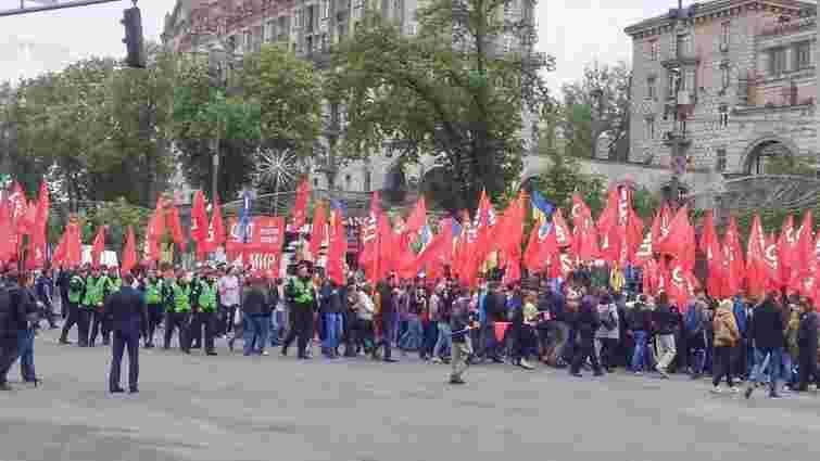 Учасники першотравневого мітингу у Києві оголосили п'ять вимог до уряду