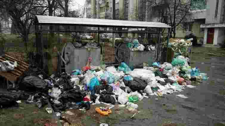 Переповненими залишаються 32% сміттєвих майданчиків житлового фонду Львова