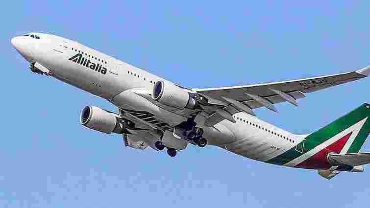 Найбільша італійська авіакомпанія Alitalia повернулася в Україну