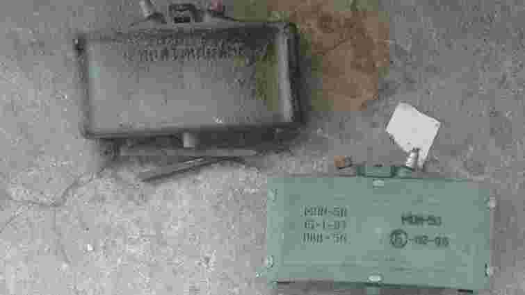 СБУ виявила російські міни біля військової частини поблизу Широкиного