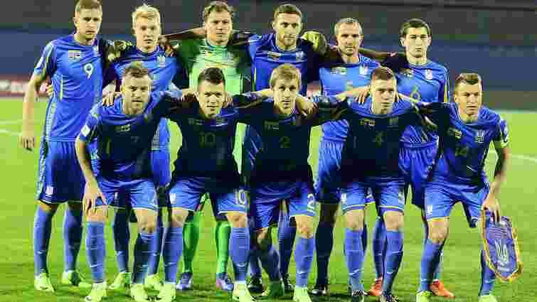 Збірна України зберегла 37 місце у рейтингу ФІФА