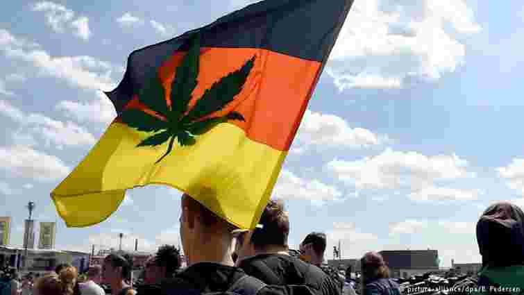 У Німеччині пройшли демонстрації за легалізацію марихуани