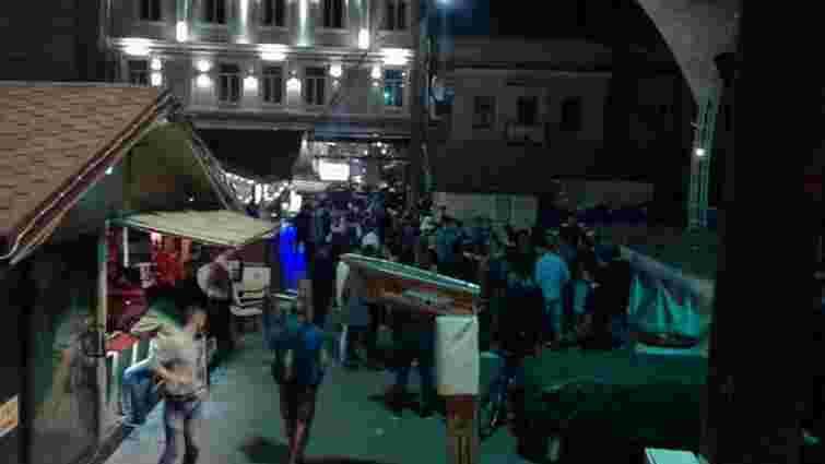 У центрі Одеси сталася масова бійка