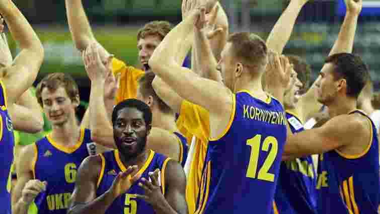 Українські баскетболісти дізналися про суперників у відборі на чемпіонат світу