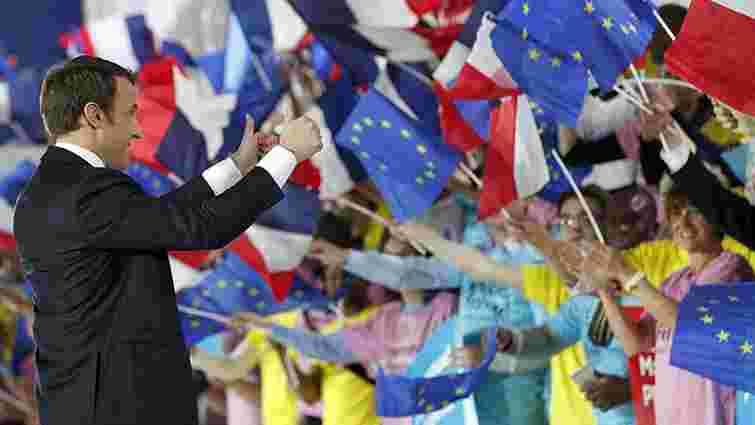 На виборах президента Франції переміг Еммануель Макрон