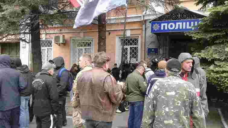 У Києві поліція відпустила затриманних 9 травня оунівців
