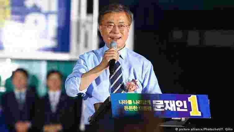 Новим президентом Південної Кореї став демократ Мун Чже Ін
